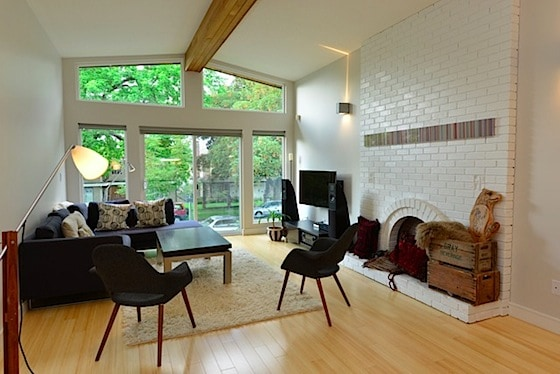 vancouver special living room space renovation