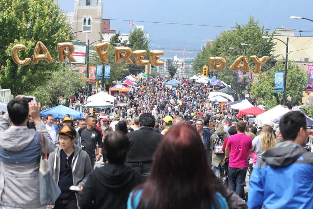 what to do in east van commercial drive car free day