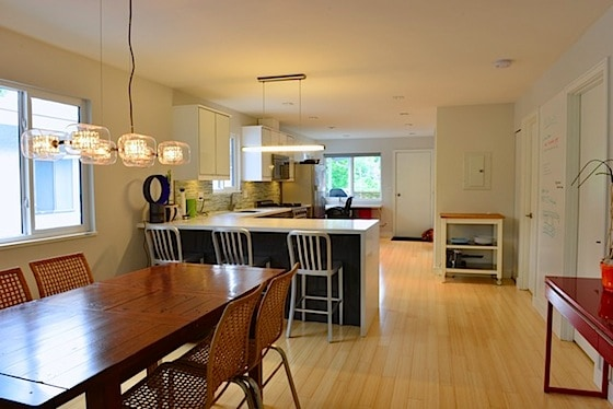 vancouver special dining room renovation