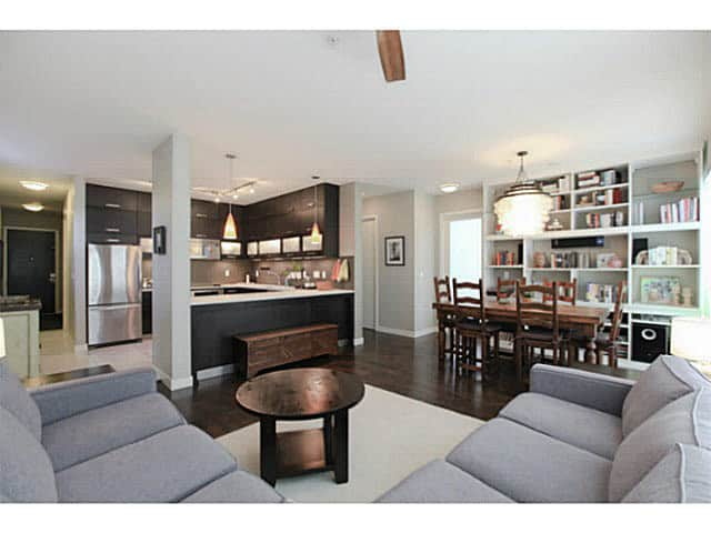 east van condo recently sold interiors