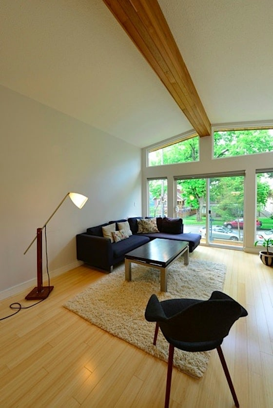 vancouver special living room renovation