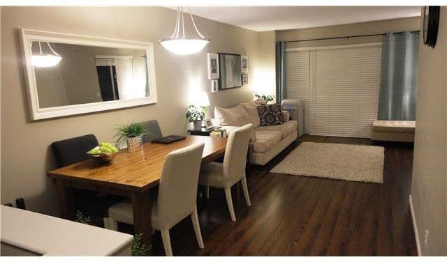 one bed condo open living space east van