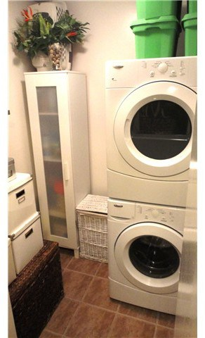 utilities and laundry in one bed condo near fraser east van