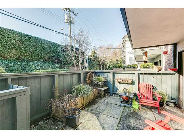 mount pleasant patio in one bed condo east vancouver