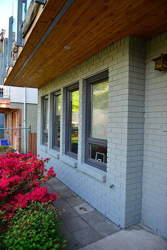 vancouver special painting exterior renovation