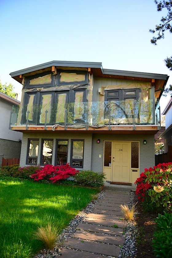 renovating vancouver special painting exterior