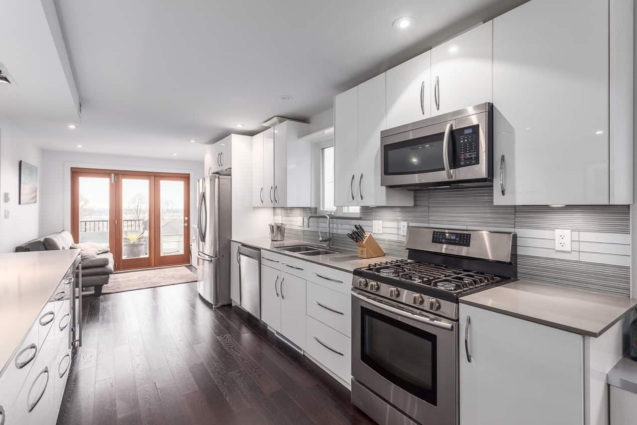 vancouver special renovated kitchen